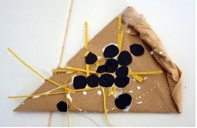 幼儿园玩教具制作:披萨图片